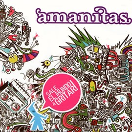 Amanitas - Sale el Mundo a Gritar (Tracks MP3)